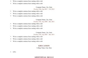 PreviousNext. Previous Image Next Image. How Many Pages Should My Resume Be  ...